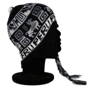 bonnet péruvien couleur noir