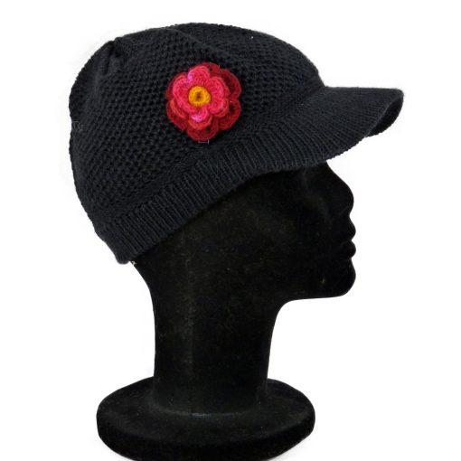 Bonnet casquette fille