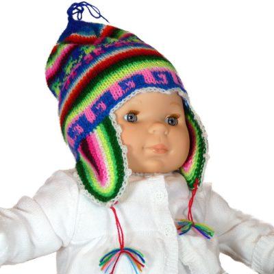 Bonnet bébé multicolore